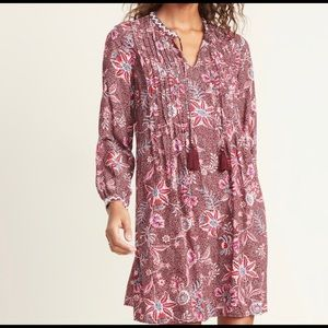 Old Navy Printed Tie-Neck Swing Dress for Women